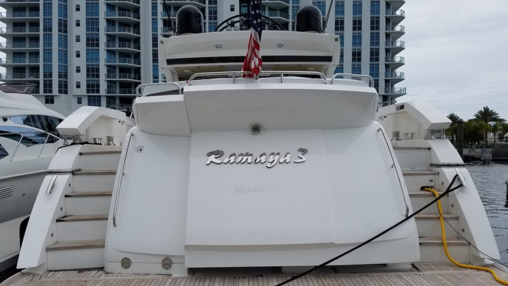 Ramaya 3 Yacht audio video
